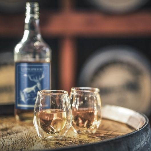 lammermore whisky on wine barrel