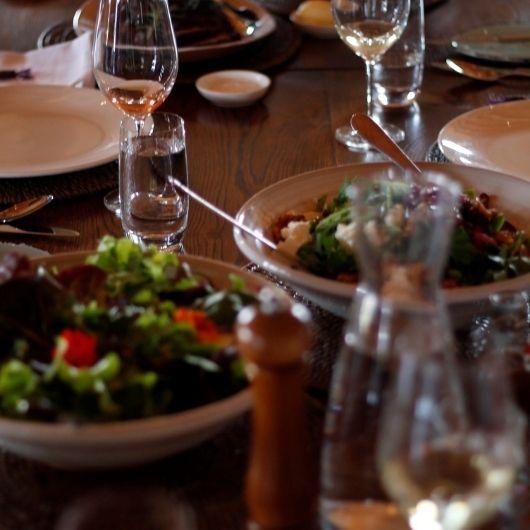 garden to plate salad lamb week
