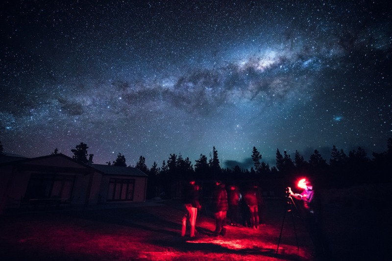 astrophotography workshop at mt cook lakeside retreat