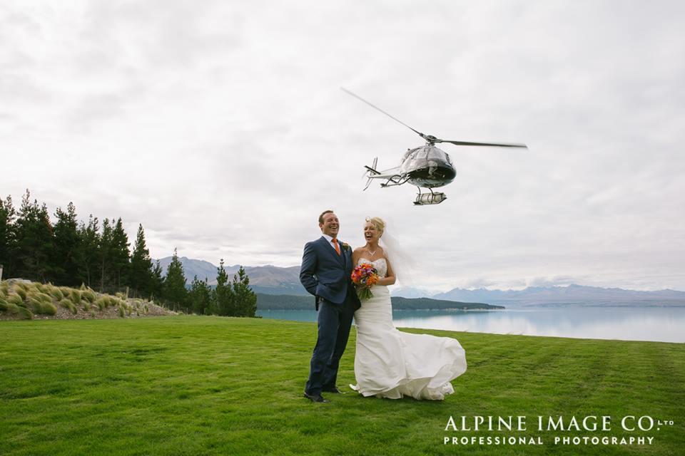 mt cook lakeside retreat wedding photography
