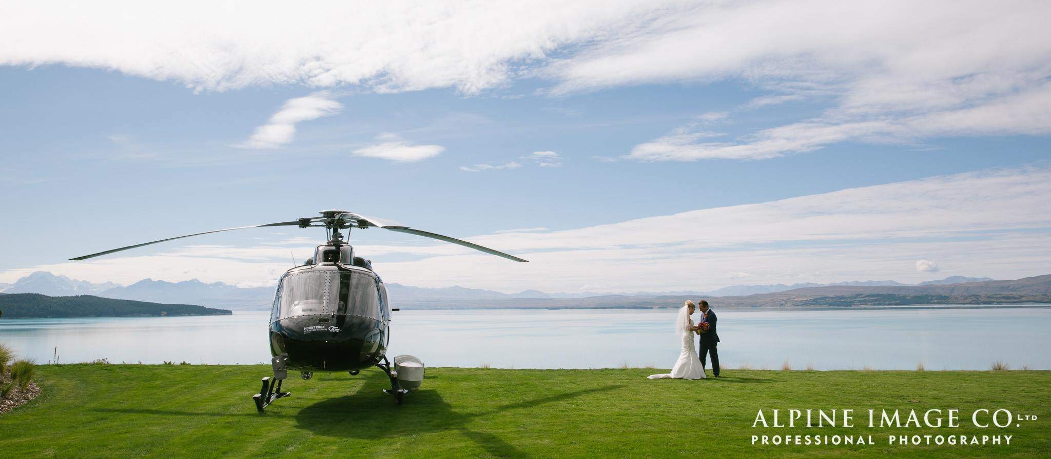 mt cook lakeside retreat wedding