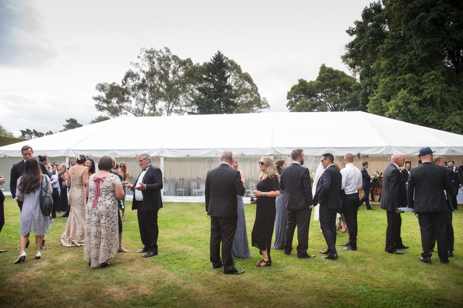 mt cook lakeside retreat wedding marquee tent